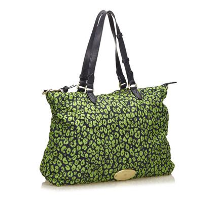 Mulberry Gesteppte bedruckte Nylon Handtasche
