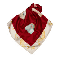 Bulgari Printed Silk Scarf