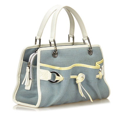 Lancel Canvas Handbag