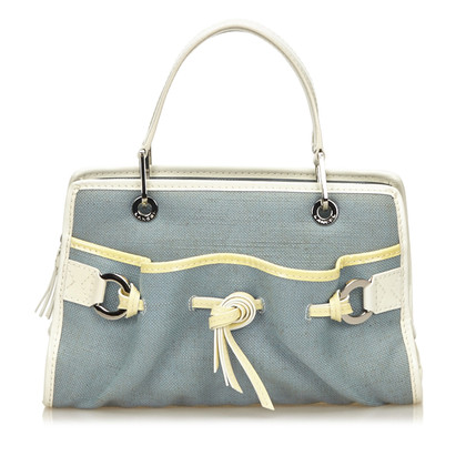 Lancel Canvas Handtasche