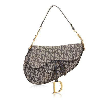 Christian Dior Jacquard Diorissimo Saddle
