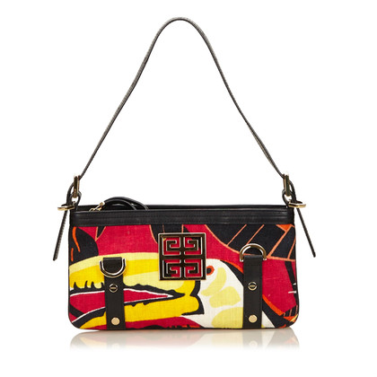 Givenchy Printed Canvas Shoulder Bag