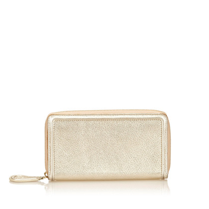 Givenchy Metallic Leather Wallet
