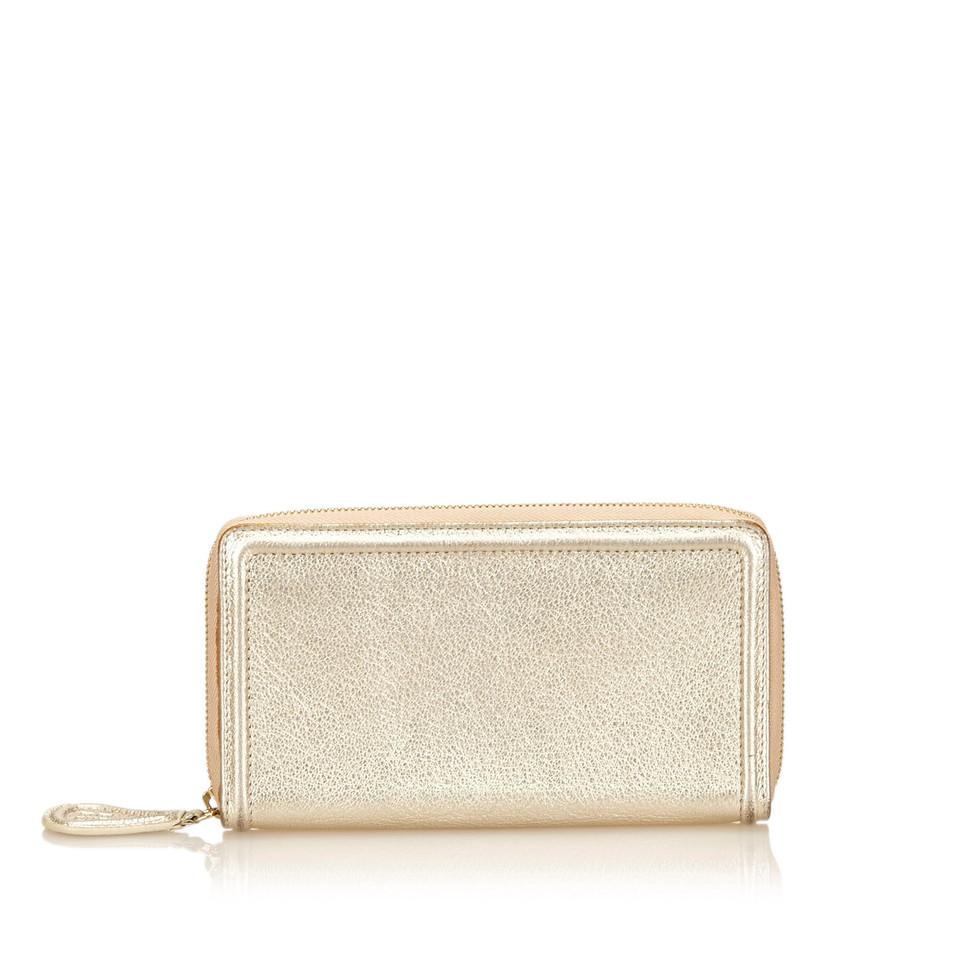 Givenchy Portafoglio in pelle metallica
