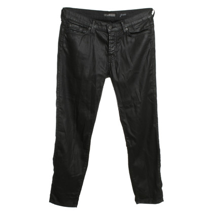 7 For All Mankind Shimmering jeans in black