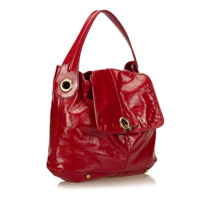 Yves Saint Laurent Patent Leather Shoulder Bag
