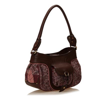 Céline Wool Shoulder Bag