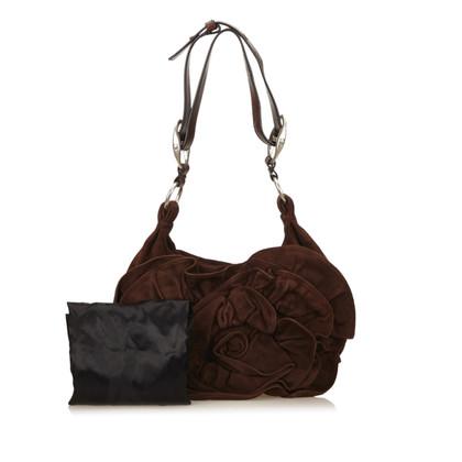 Yves Saint Laurent Suede Leather Nadja Rose