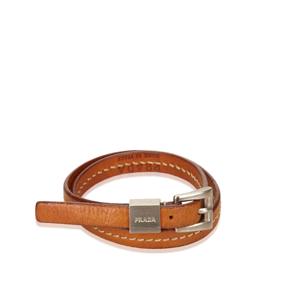 Prada Leather Bracelet