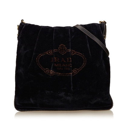 Prada Velour Shoulder bag