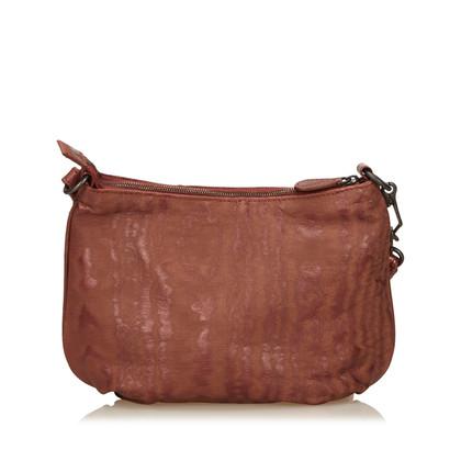 Bottega Veneta Printed Nylon Handbag
