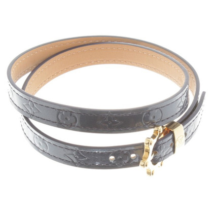 Louis Vuitton Bracciale in blu metallizzato