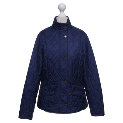 Barbour piumino in blu