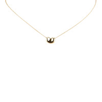 Tiffany & Co. 18K Bean Pendant Necklace