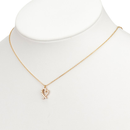 Tiffany & Co. Diamond Loving Heart Pendant Necklace