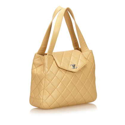 Chanel Quilted Lambskin Leather Handbag