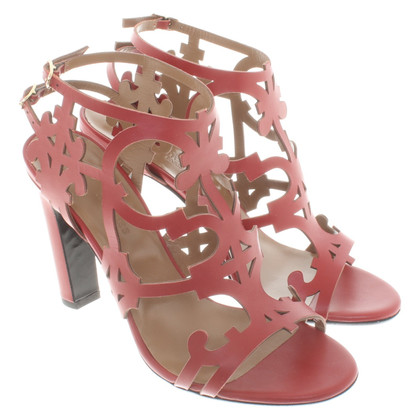 Hermès Leren sandalen