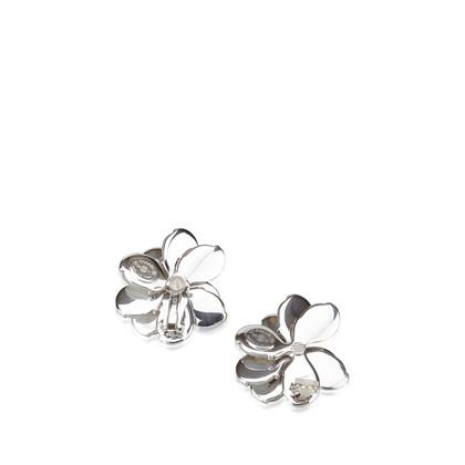 Chanel Shell Camellia Earrings