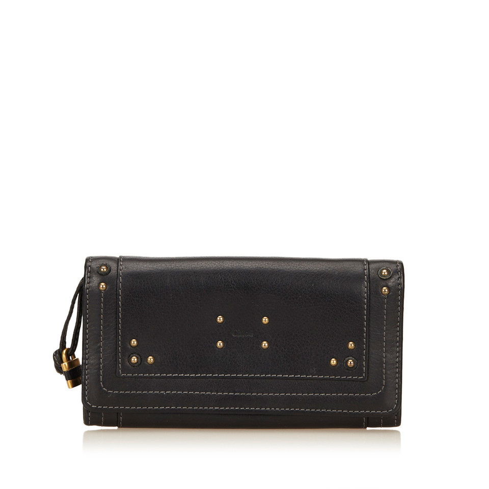 Chloé Leather Paddington Wallet