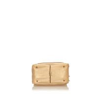 Chloé Metallic Leather Paddington Shoulder Bag