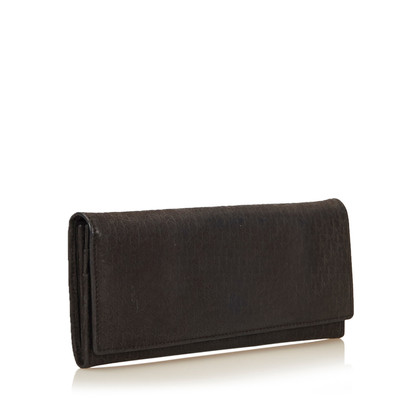 Christian Dior Textured Leather Diorissimo Wallet