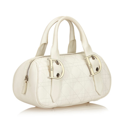 Christian Dior Leather Cannage Handbag