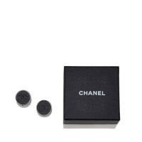 chanel leder cc clip on ohrringe second hand chanel leder cc clip on ohrringe gebraucht kaufen. Black Bedroom Furniture Sets. Home Design Ideas