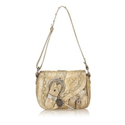 Christian Dior Python Shoulder tas