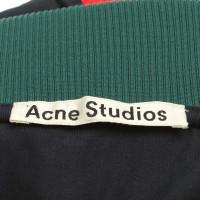 Acne top in dark blue