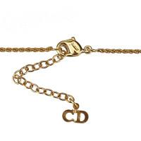 Christian Dior Rhinestone Studded Pendant Necklace