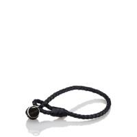 Bottega Veneta Leather Intrecciato Bracelet