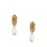 Givenchy Faux Pearl Drop Earrings