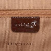 Bulgari Suede Shoulder Bag