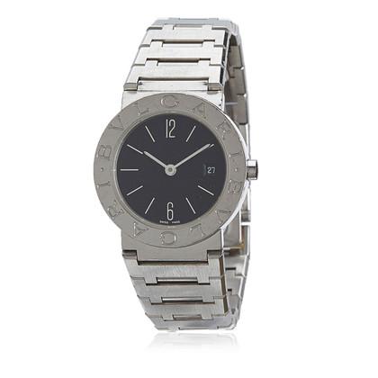 Bulgari Diagono orologio in acciaio inossidabile