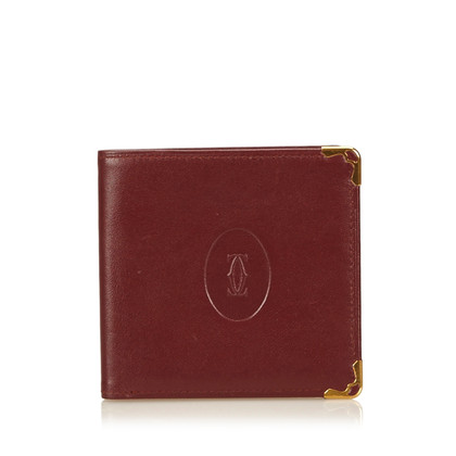 Cartier Leren Must de Cartier Portemonnee