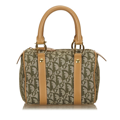 Christian Dior Diorissimo Jacquard Mini Boston Bag