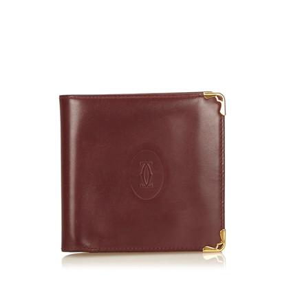 Cartier Portafoglio in pelle Must De Cartier