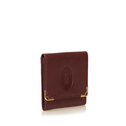 Cartier Pelle di cuoio Must de Cartier