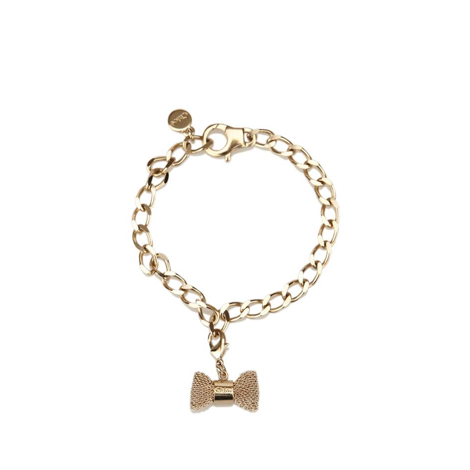 Chloé Gold-Tone Chain Bracelet
