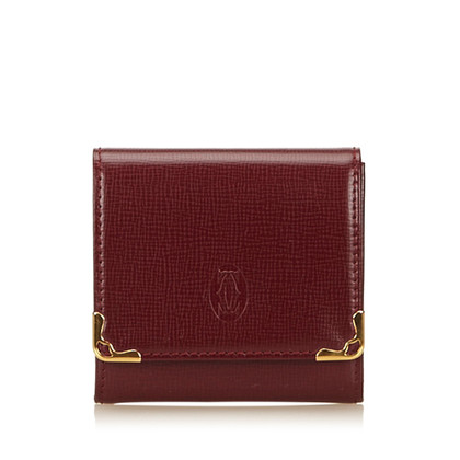 Cartier Leather Must de Cartier Coin Pouch