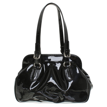 Hobbs Handbag made of patent leather