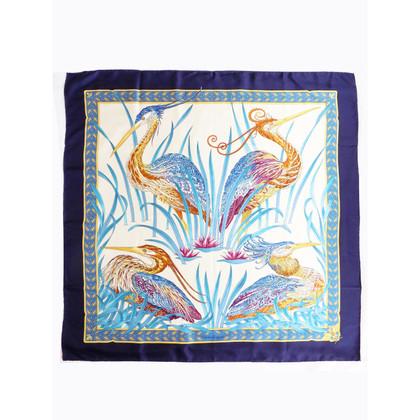 Salvatore Ferragamo Silk scarf with animal print