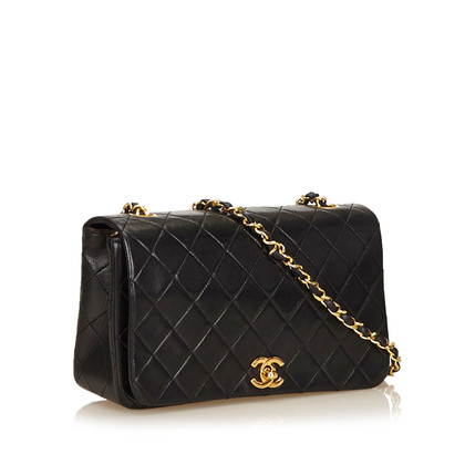 Chanel Quilted lamsleer Chain Flap Bag