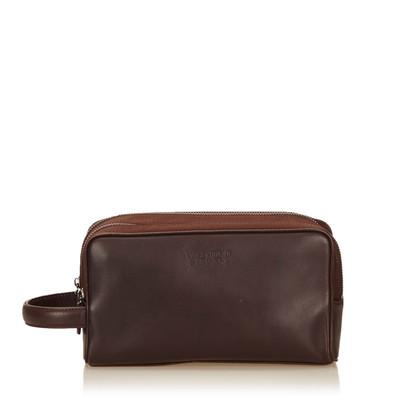 Valentino Leather Vanity Bag