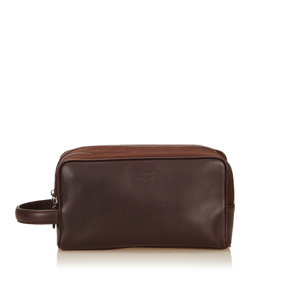 Valentino Leather Vanity Bag