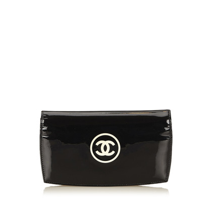 Chanel Lackleder Brieftasche