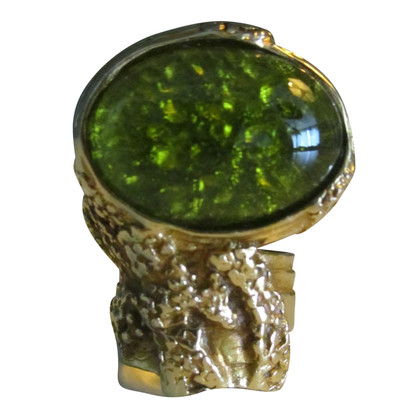 "Yves Saint Laurent Ring ""Arty"" met strass"