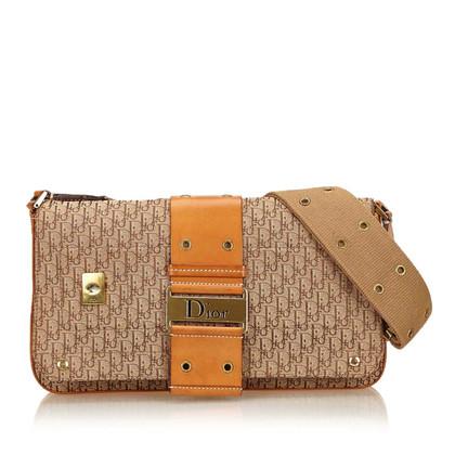 Christian Dior Jacquard Diorissimo Shoulder Bag