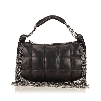 Chanel Chain Fringed lamsleer Handtas
