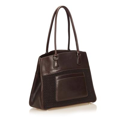Hermès Leren Trim Tote Bag
